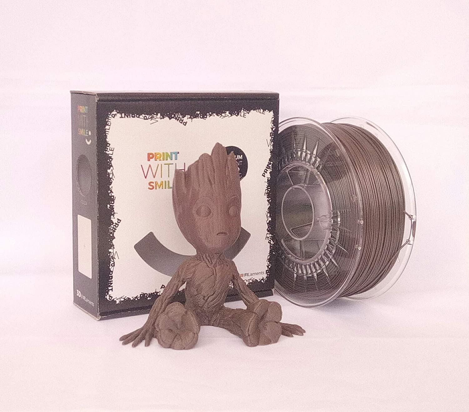 Printed With Smile - Filamento 3D PLA, 1,75 mm, 500 g, 500 g ...