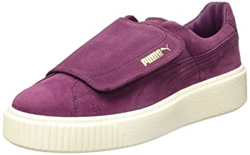 timeless design 6154c 4ad46 Puma Suede Platform Velcro Big, Purple: Amazon.co.uk: Sports ...