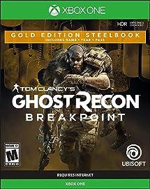 Amazon.com: Tom Clancys Ghost Recon Breakpoint Steelbook ...