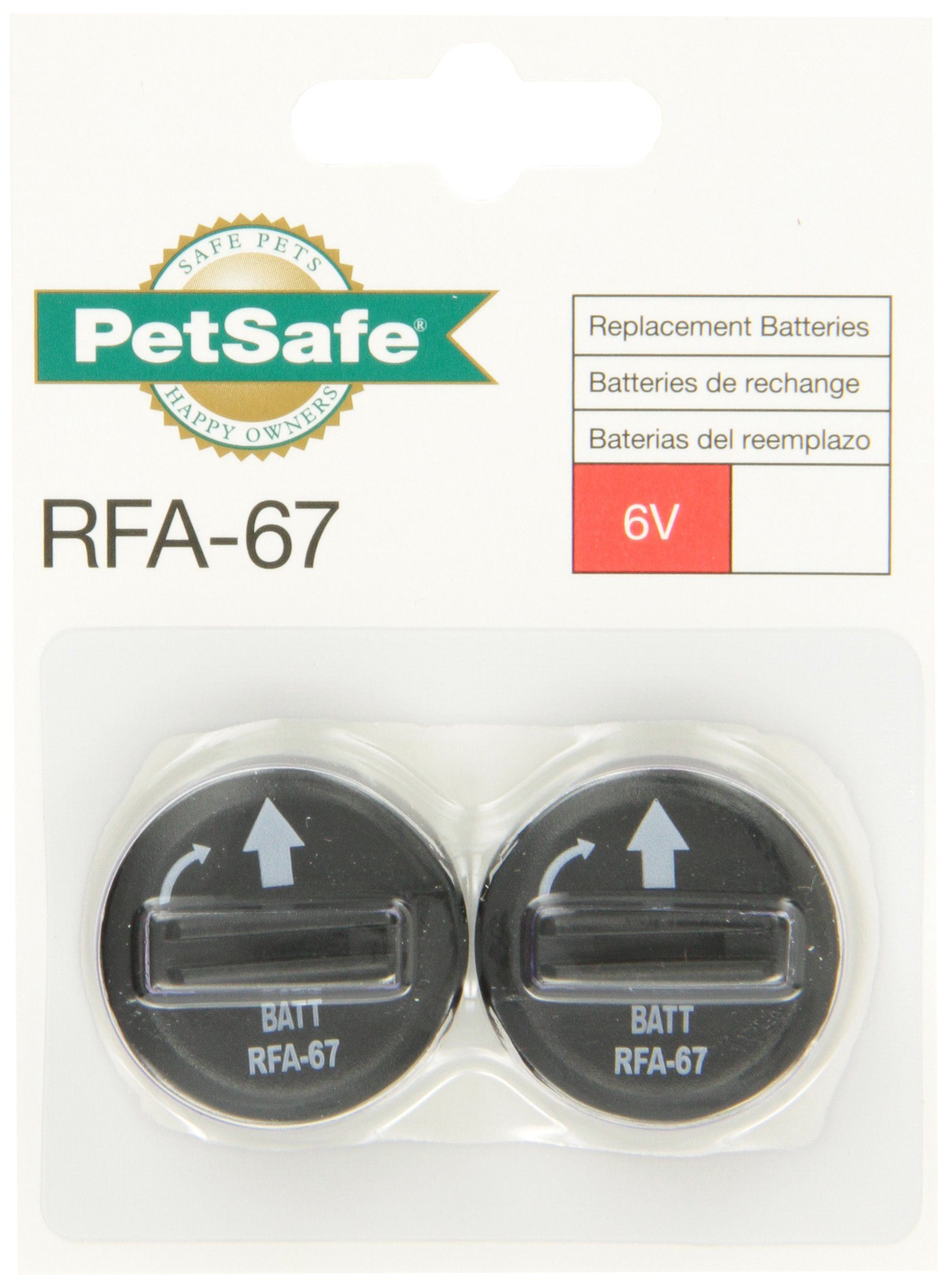 PetSafe 6-Volt Lithium Battery (Pack of 6) by PetSafe