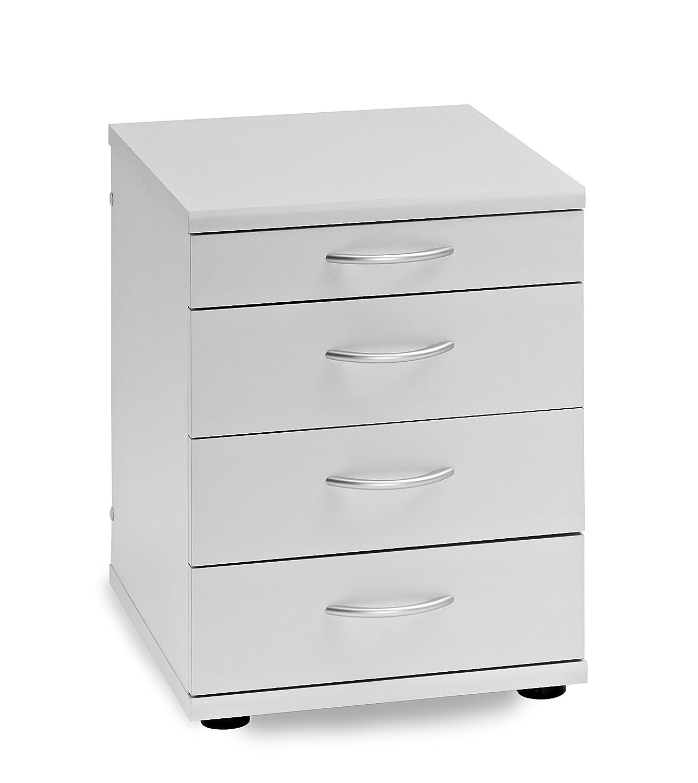 Büroeinrichtung Büromöbel Büro Grau Eckschreibtisch Bürocontainer ...