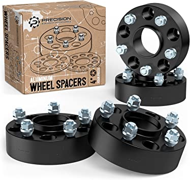 Orion Motor Tech 5x114.3 Wheel Spacers 25mm Hub Spacer Kit 5x4.5 1 inch Hub-Centric Wheel Adapters with Studs Compatible with 2015 2016 2017 2018 2019 2020 Ford Mustang and Mustang GT Set of 4