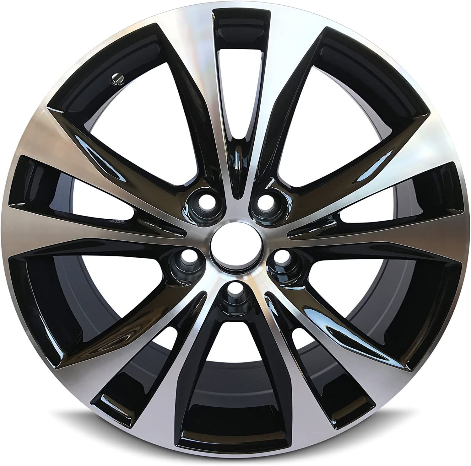 18 Inch Tires >> Road Ready Car Wheel For 2013 2015 Toyota Rav4 18 Inch 5 Lug Gray Aluminum Rim Fits R18 Tire Exact Oem Replacement Full Size Spar