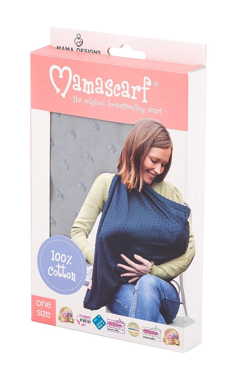 Retroleaf Design Lightweight 100/% Cotton Mama Designs Mamascarf Nursing and Breastfeeding Scarf