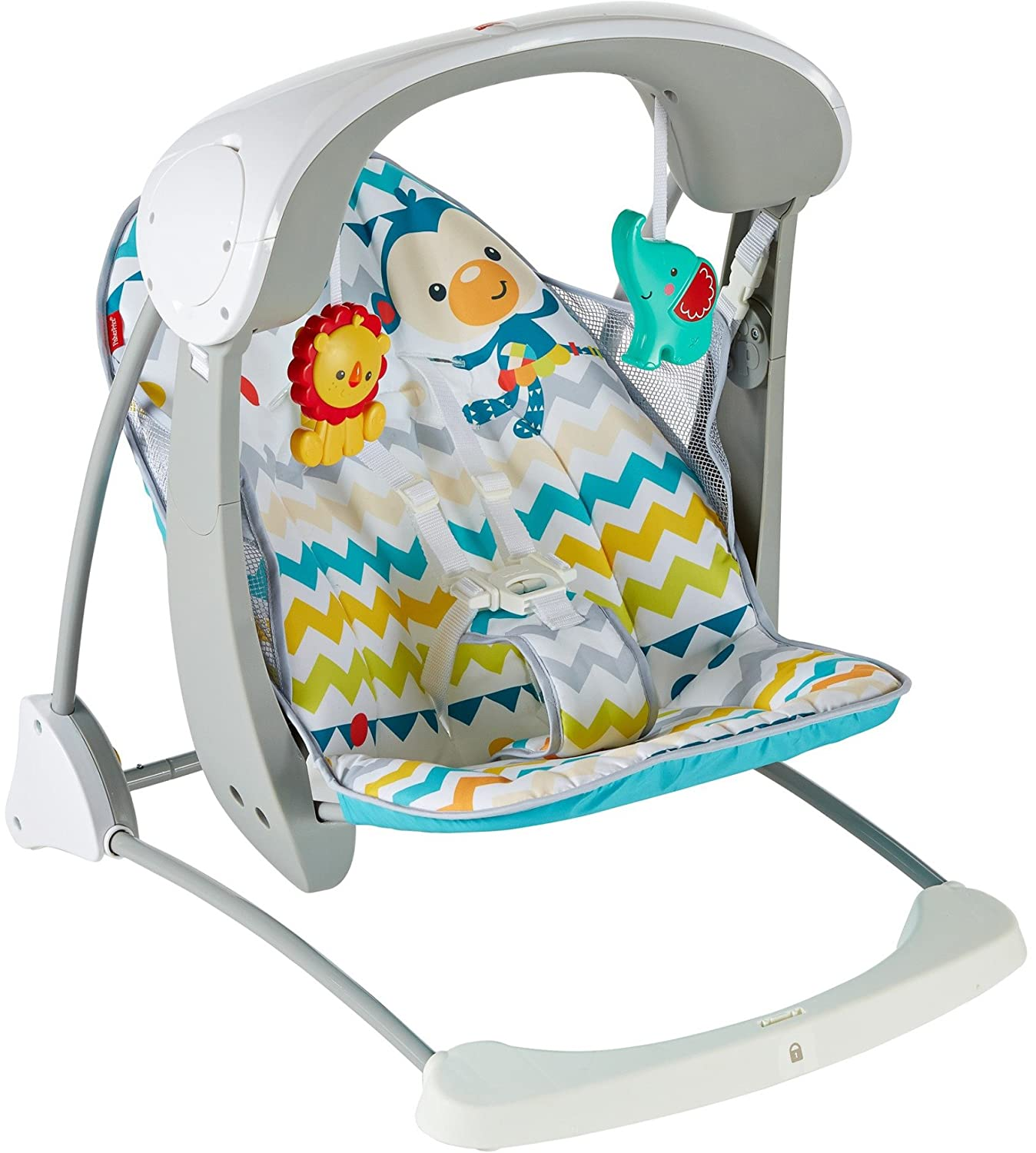 Fisher-Price Deluxe Take Along Swing and Seat CJV03