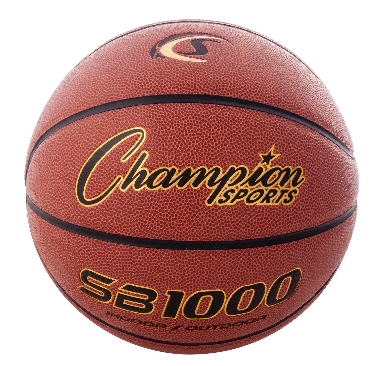 CHAMPION SPORTS - Balón de Baloncesto Compuesto, SB1000, Official ...