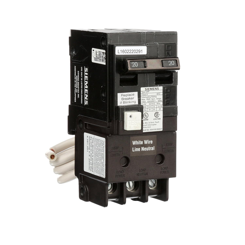 wiring 240v bas siemens qf220a qf220 ground fault circuit interrupter  20 amp  2  qf220 ground fault circuit interrupter