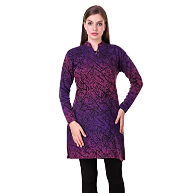 9d2d74d8b KIBA RETAIL Winter Collection Solid Women s KURTI New Stylish ...