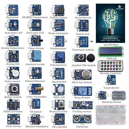 Amazon Sunfounder Ultimate Sensor Kit For Arduino Uno R3