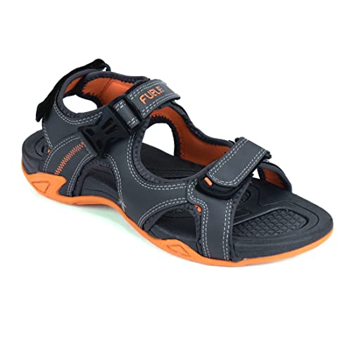 8f012d1a7d57ed FUEL Men s Boy s Latest Summer Collection Designer Comfortable Velcro  Closure Solid Casual Floaters   Sandals  Buy Online at Low Prices in India  - Amazon.in