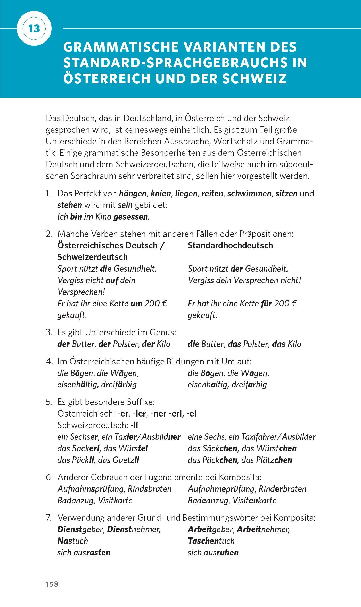 PONS Grammatik kurz und bündig Deutsch als Fremdsprache Der