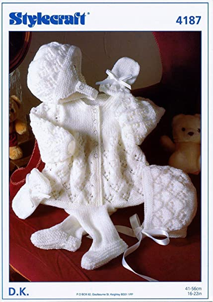 Amazon.com: Stylecraft Baby Pram Set Wondersoft Knitting Pattern ...