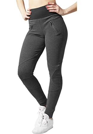 Urban Classics TB1053 Ladies Interlock High Waist Leggings Women ... b67d12a43f