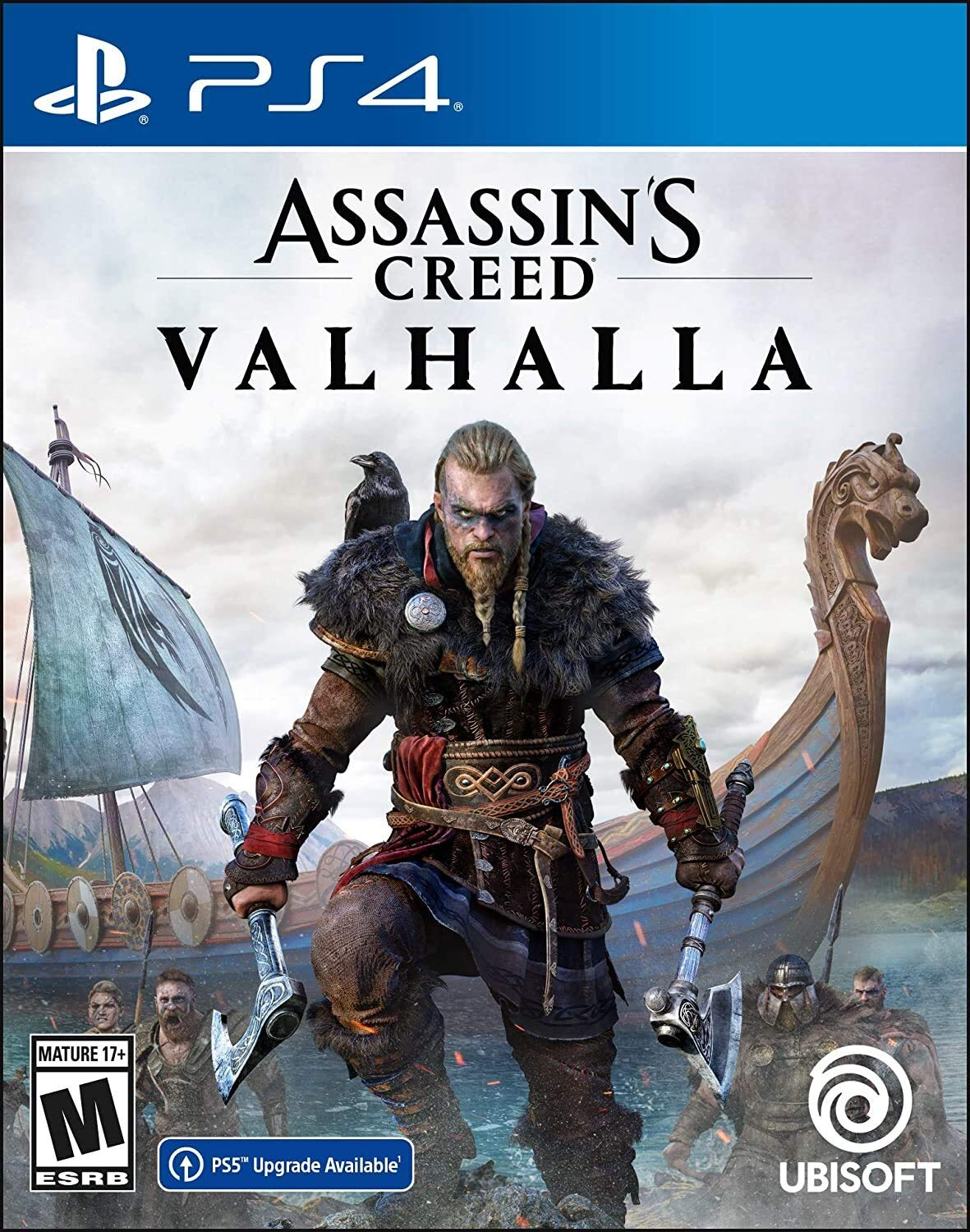 Assassin's Creed Valhalla Cover Art