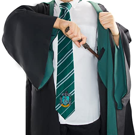 Harry Potter - Capa - Oficial -Cinereplicas (Large Adultos, Slytherin)