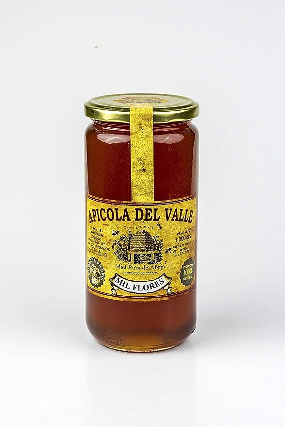 Miel 100 % natural pura de abeja cosecha propia artesanal Apicola del Valle, diferentes sabores muy intensos. Envío GRATIS 24 h. (Mil Flores, 1 Kg): Amazon.es: Alimentación y bebidas