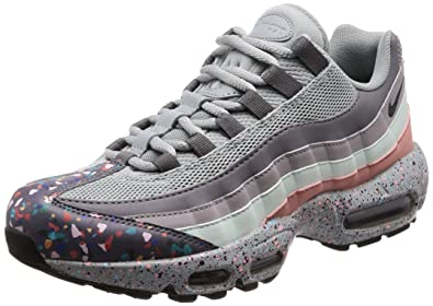 innovative design 6bcc1 cdf5b Nike Chaussures Femme AIR Max 95 Sneakers en Tissu Multicolore 918413-002