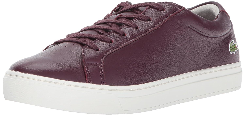 Lacoste Women's L.12.12 317 1 Fashion Sneaker B01NCRUJ5D 8.5 B(M) US|Burgundy