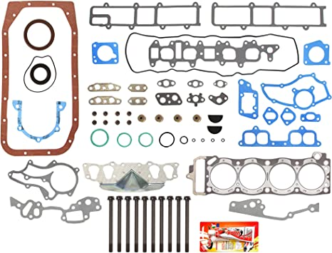 Fits 85-95 Toyota 4Runner Pickup Celica 2.4L MLS Full Gasket Set Bolts 22R