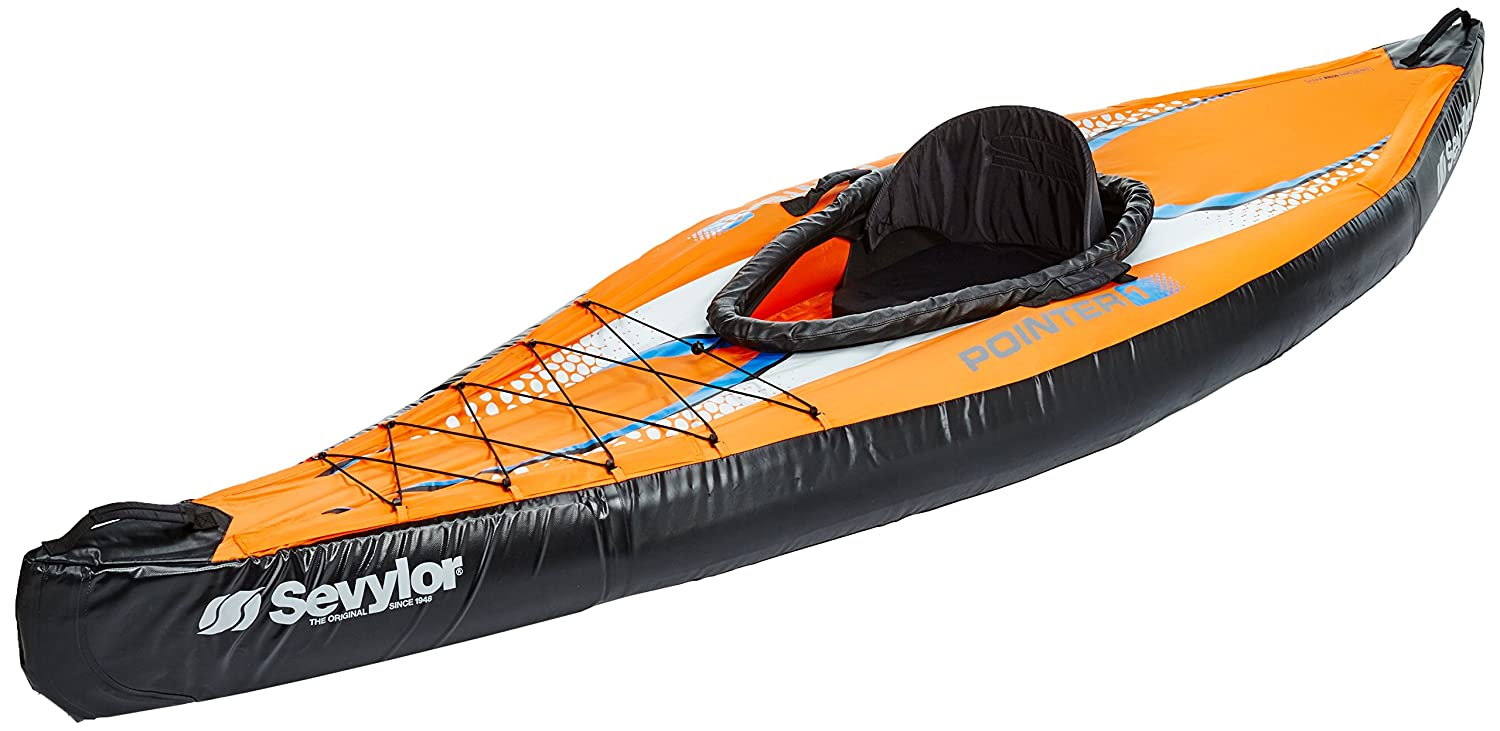 Sevylor Pointer K1 - Kayak De Mer 1 Personne Orange Avec Sac ...