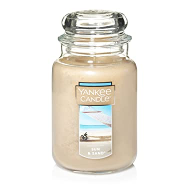 Yankee Candle Large Jar Candle, Sun & Sand®