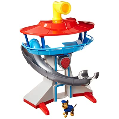 Paw Patrol - The Lookout Playset with Chase: Toys & Games