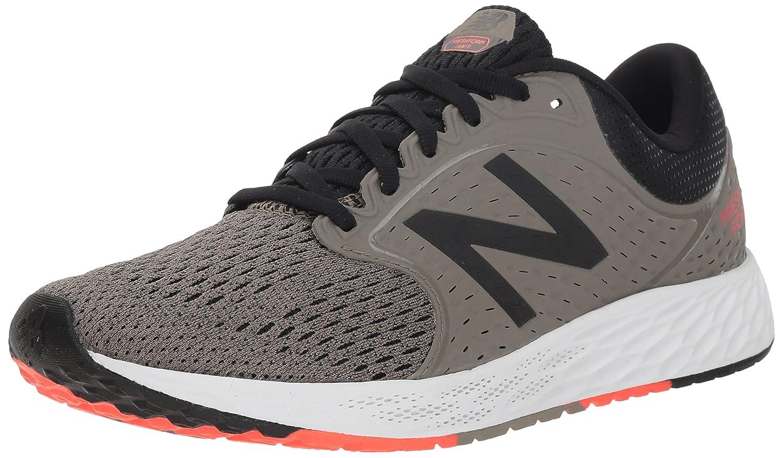 New Balance Fresh Foam Zante V4 Neutral, Zapatillas de Running para Hombre 41.5 EU|Verde (Military Urban Grey/Black/Flame Mf4)