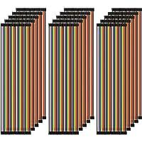 AZDelivery Jumper Wire Cable 3 x 40 STK. każdy 20 cm M2M / F2M / F2F kompatybilny z Arduino i Raspberry Pi Breadboard…