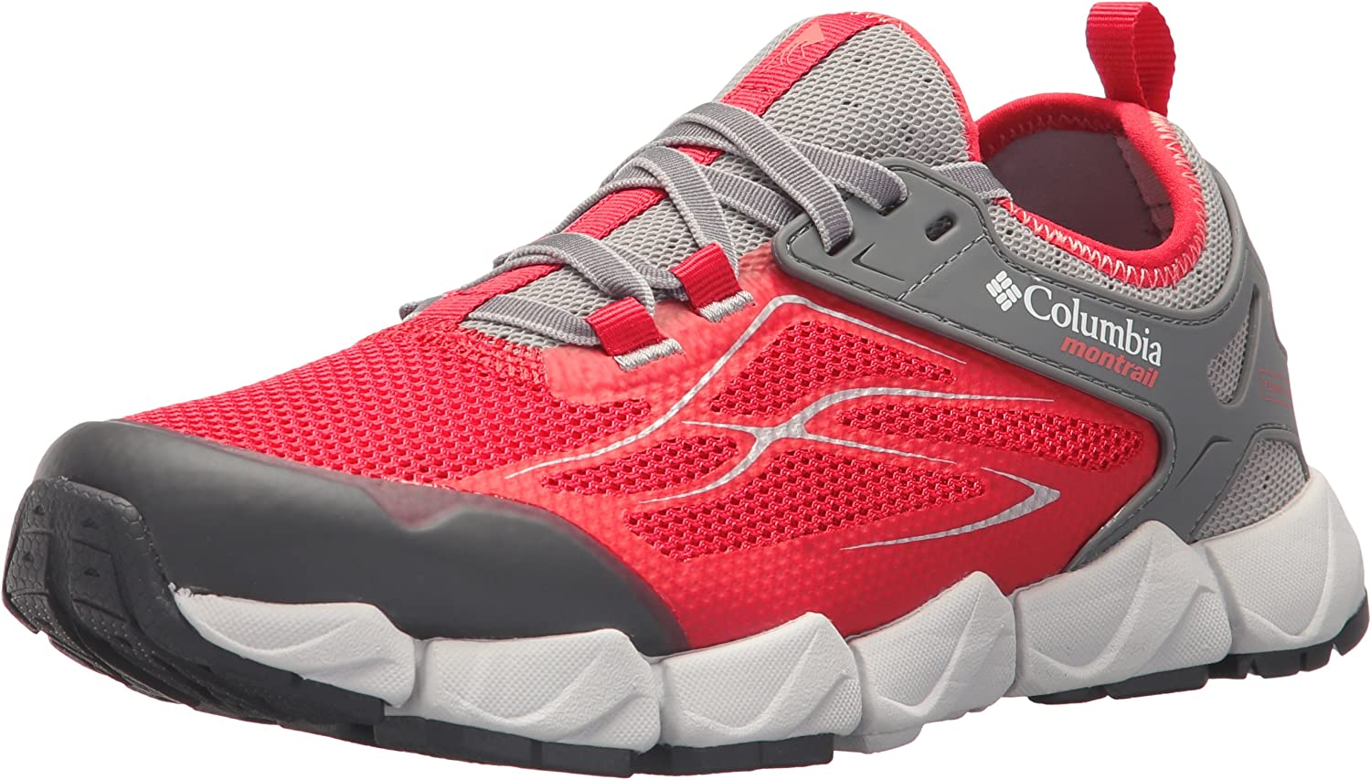 Columbia Women s Fluidflex X.S.R. Trail Running Shoe, red Camellia, melonade, 9.5 B US