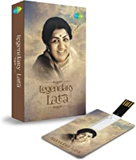 MUSIC CARD- LEGENDARY LATA (200 HD SONGS) (USB MEMORY STICK)