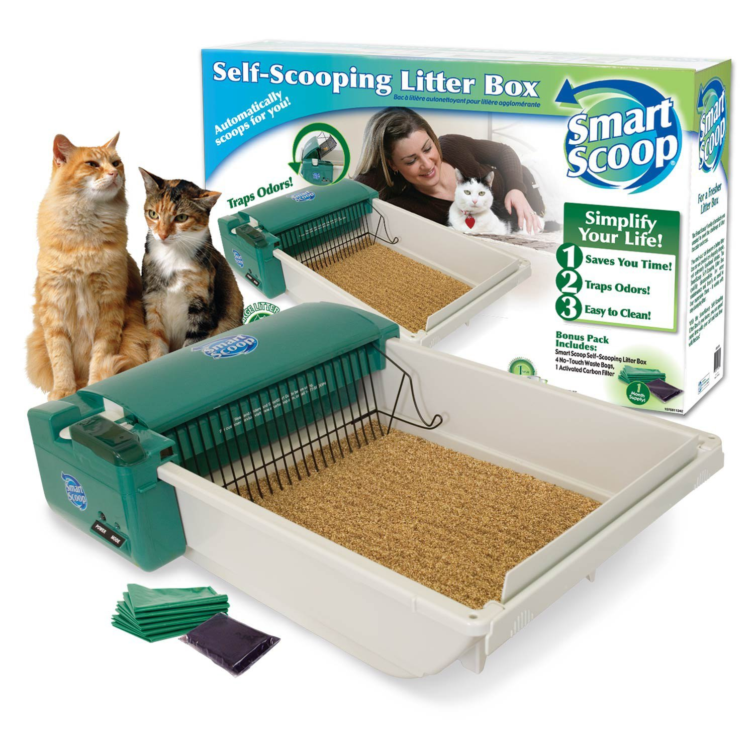 SmartScoop Green DS Automatic Litter Box by SmartScoop