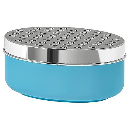 Rallador con contenedor azul montado Tamaño Longitud: 17 cm Ancho ...