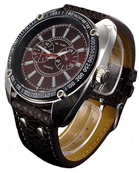 Jay Baxter XXL Watch – Reloj de pulsera de cuarzo analógico hombre reloj caja TACHYMETRE