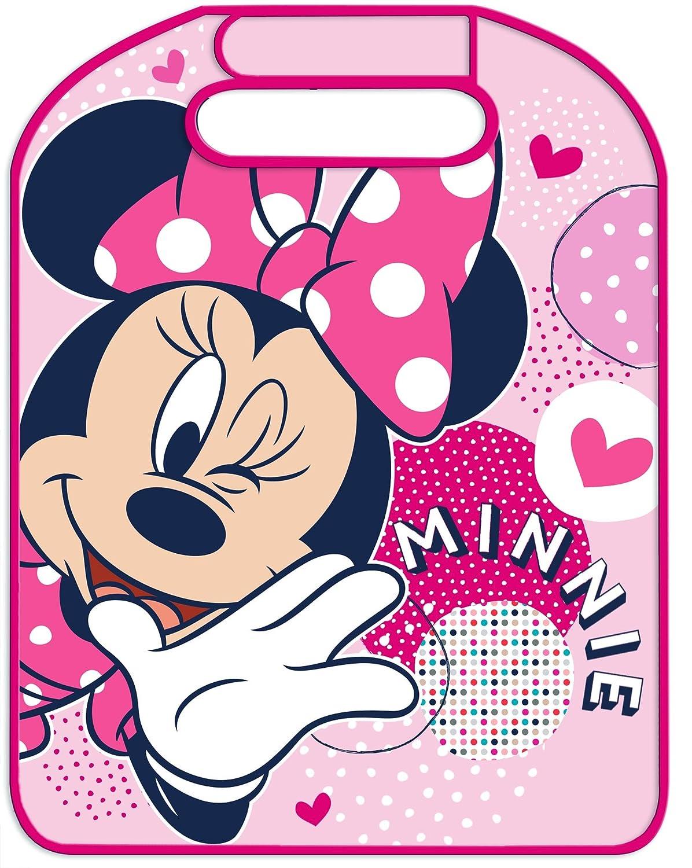Disney 25326 Proteggisedile Anteriore, Disegno Minnie, Rosa Eurasia