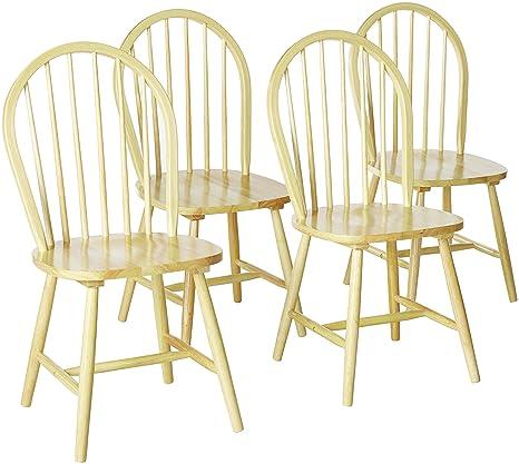 Amazon.com: Coaster Home Furnishings País silla de comedor ...