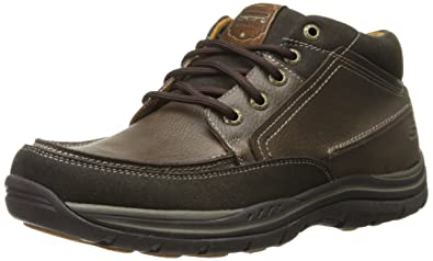 Skechers Segment Bertan, Chaussures Basses Homme, Marron (Chocolat), 41 EU (7 UK)
