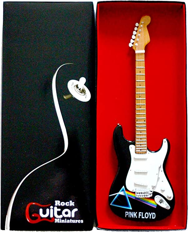 RGM17 Pink Floyd Dark Side guitarra en miniatura: Amazon.es: Hogar