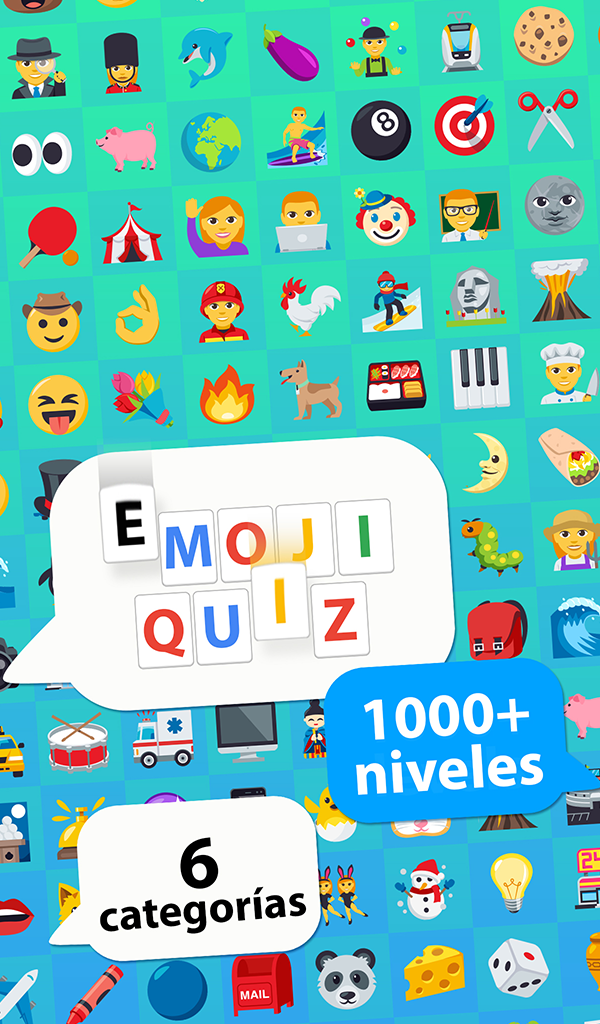 The Emoji Quiz - guess words from emojis stickers