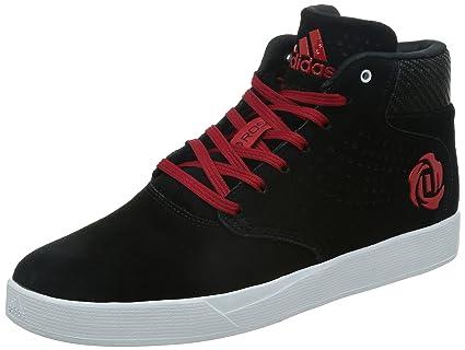 new product da3b8 889c3 Adidas D Rose Lakeshore Mid S83811, Trainers, Noir, 9.5 UK