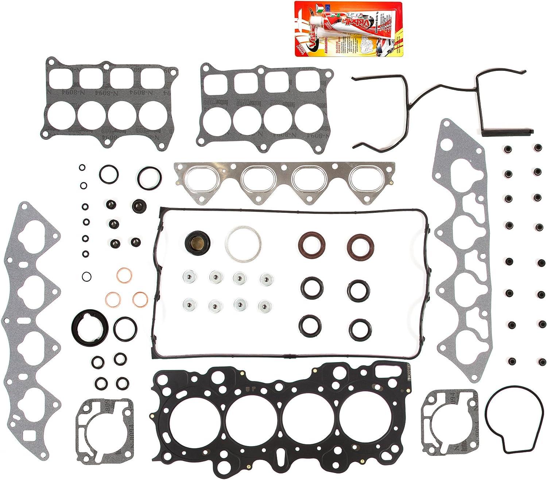 92-01 Acura Integra 1.7L B17A1 1.8L B18C1 Honda Civic 1.6L B16A2 Full Gasket Set