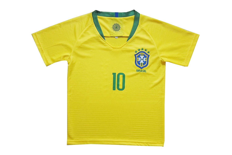 Amazon.com: KID BOX Brasil #10 Neymar JR. Juego de ...