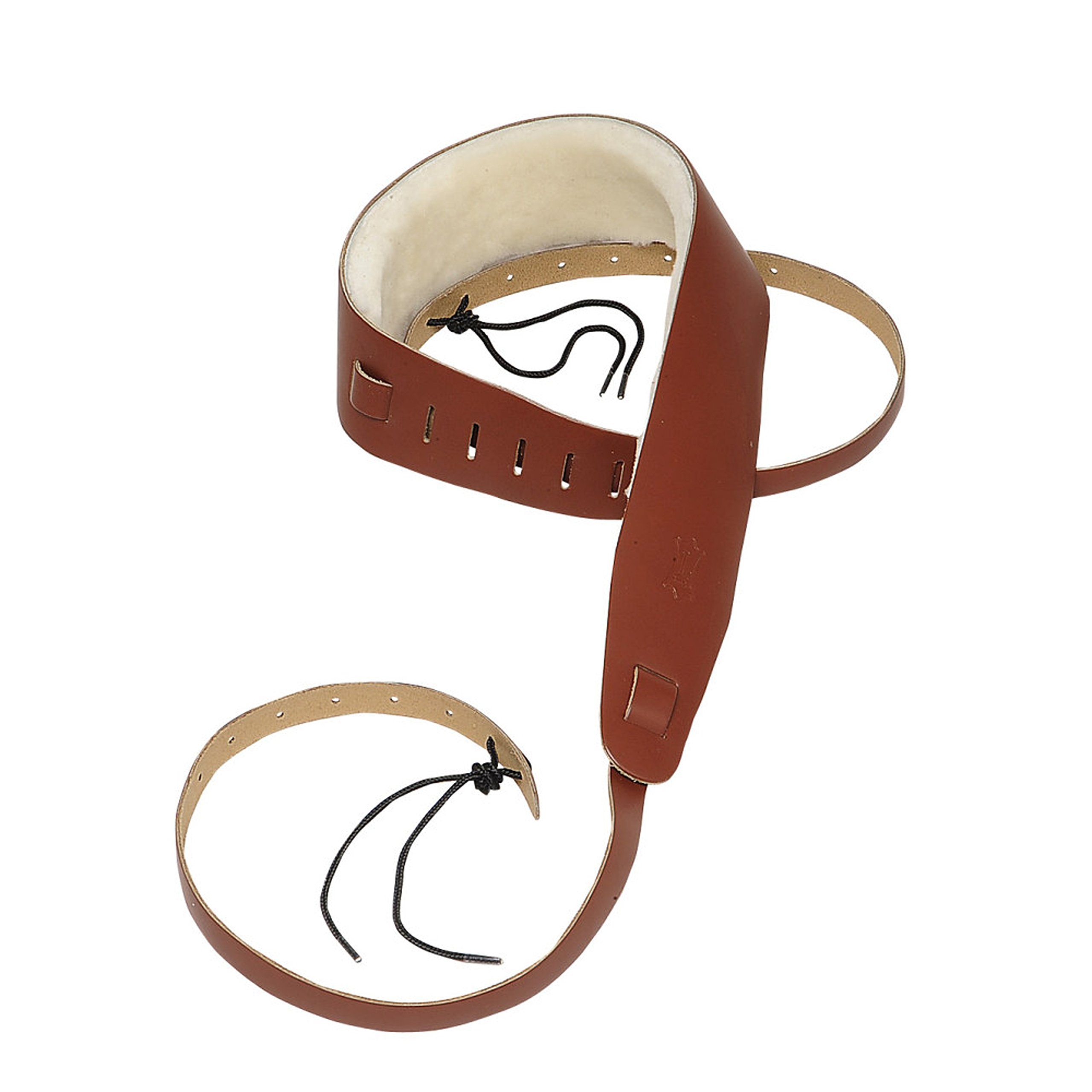 Levy's Leathers PM14-WAL Leather Banjo Cradle Strap, Walnut