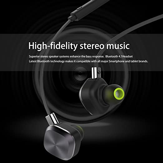 Amazon.com: Wireless Headphones, Origem Bluetooth 4.1 Sports Sweatproof In-ear Earbuds Earphones Headset Noise Cancellation Built-in Mic for Sports Running ...