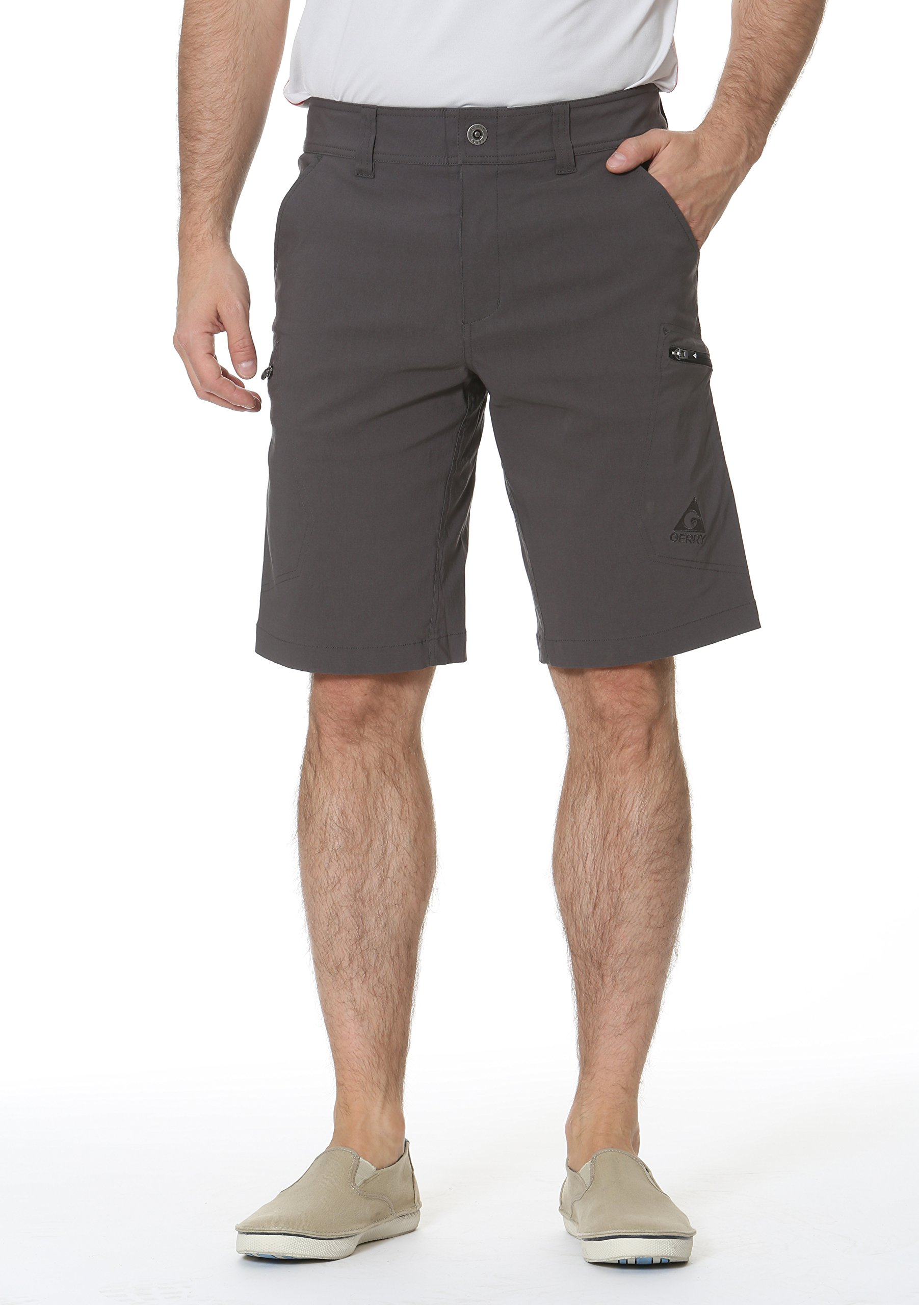 Gerry Stretch River Hiking Short (36, Slate)…