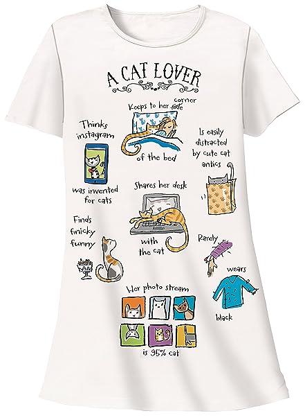 Nightshirt - A Cat Lover b96ab733a
