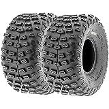 SunF Rear ATV Dimple Knobby Tires 22x10-8 22x10x8 2 PR A030 (Set pair of 2)