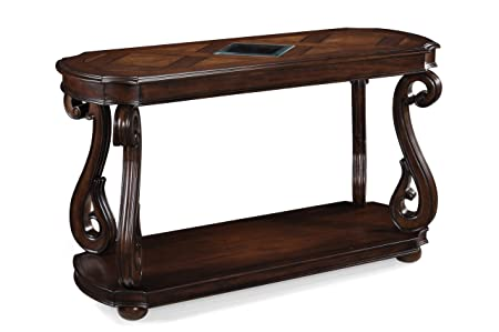Magnussen T1648-73 Harcourt Cherry Finish Wood Rectangular Sofa Table