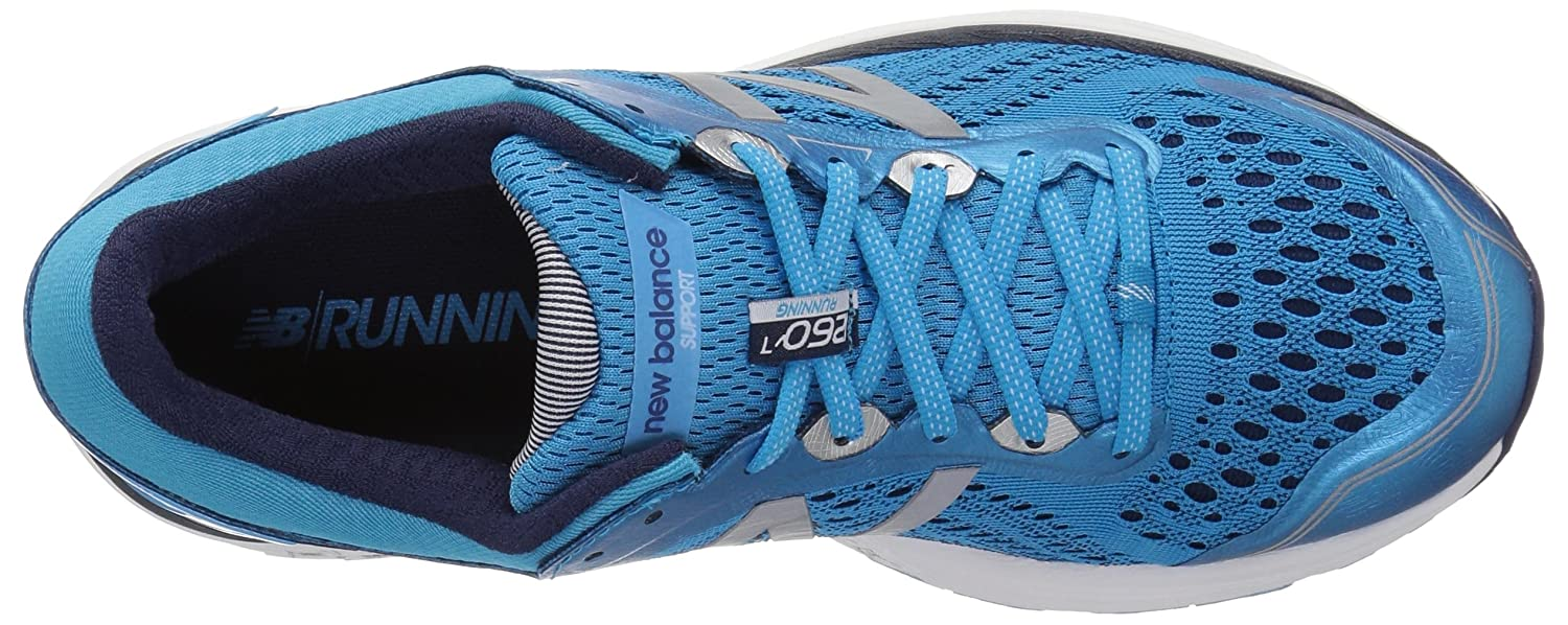 New Balance B0752FLQ1M Women's 1260v7 Running Shoe B0752FLQ1M Balance 12 2A US|Bright Blue edc1dd