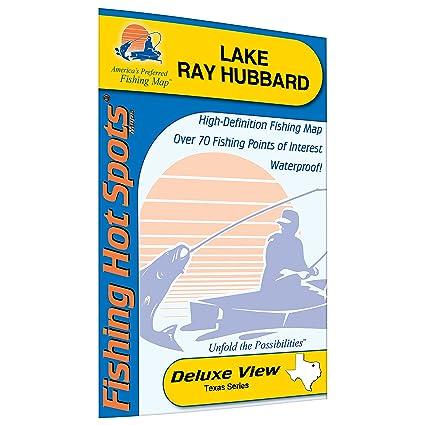 Amazon ray hubbard fishing map lake sports outdoors ray hubbard fishing map lake publicscrutiny Images