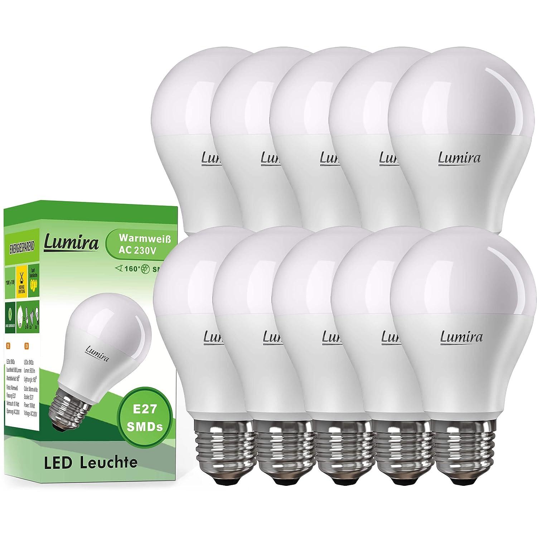 Blanc Lumira Lampe 160° Chaud E27 900 Lot Ampoules 10w De 10 A60 Led Ampoule W Lm Smd shdQCtxBr